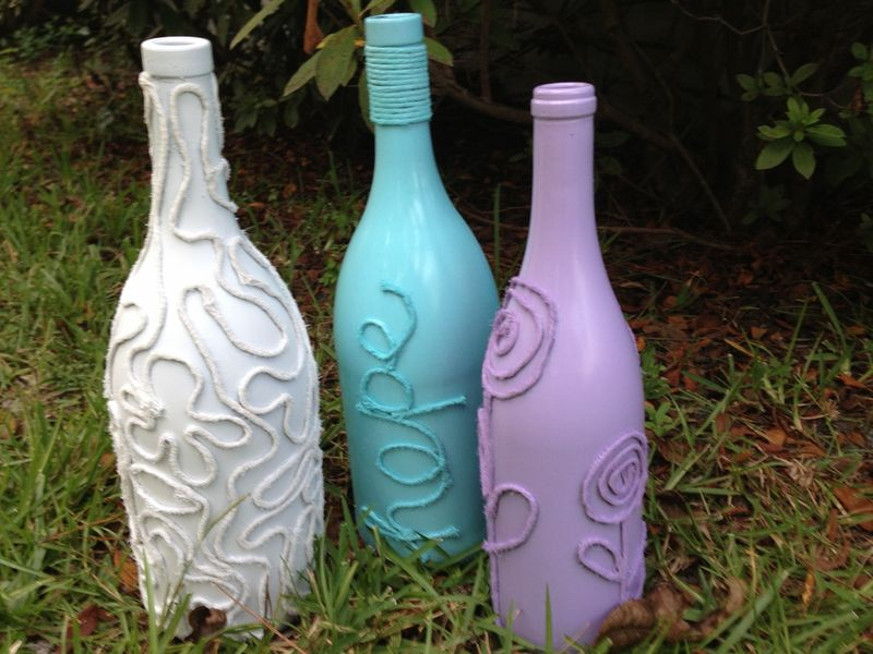 Recycled Wine Bottle Art You Can Make 365 Days Of Crafts